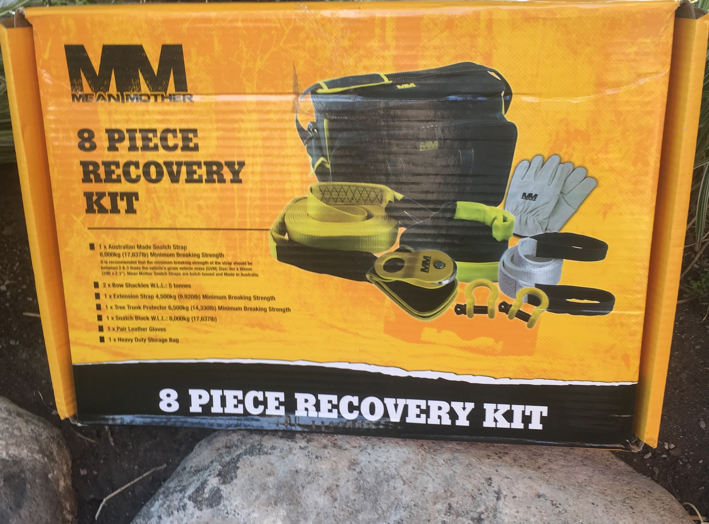 Mean Mother Recovery Kit - 8 Piece